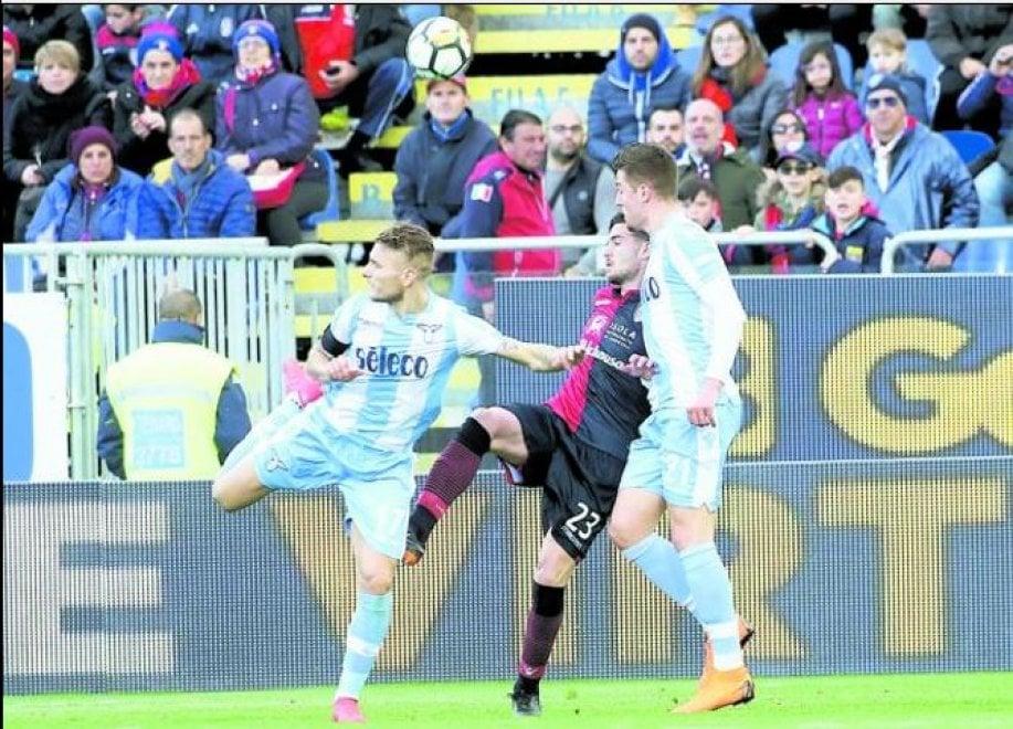 Lazio, magia di Immobile: colpo di tacco e gol del pari al 95'