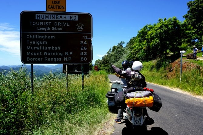 Il giro del mondo in Lambretta
