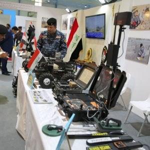 Fiera degli armamenti e degli equipaggiamenti militari a Baghdad