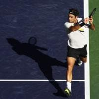 Tennis, Indian Wells: Federer e Cilic al terzo turno. Eliminato Zverev