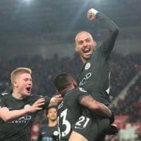 Premier League: Silva spazza via lo Stoke, Manchester City più vicino al titolo