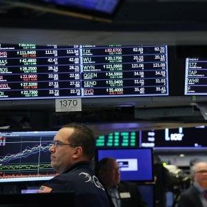 Inflazione Usa come da attese, le Borse scivolano in chiusura. In negativo Wall Street