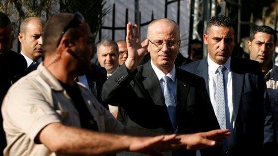 Gaza: attacco al premier palestinese, illeso. L'Anp accusa Hamas: