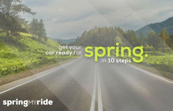 Pulizie di Pasqua anche per l'auto