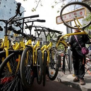 Le biciclette gialle di Ofo incassano 866 milioni, Alibaba capofila