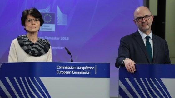 I commissari Thyssen e Moscovici