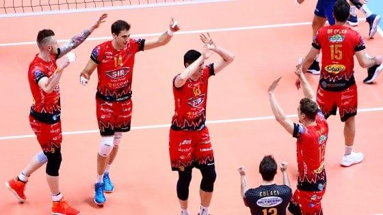 Volley, Champions: Perugia fa il colpo in Turchia