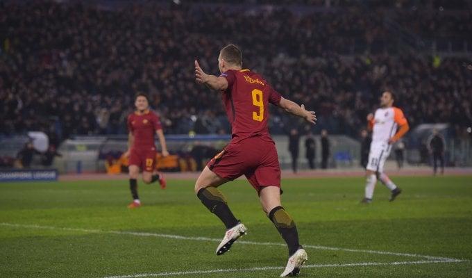 Champions, Roma-Shakhtar Donetsk 1-0, Dzeko lancia i giallorossi tra le big d'Europa