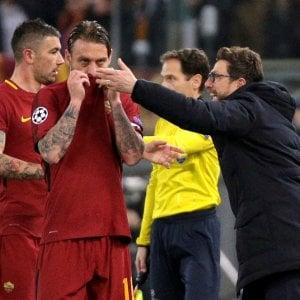 "Roma, Di Francesco: ""Una vittoria da uomini veri"""