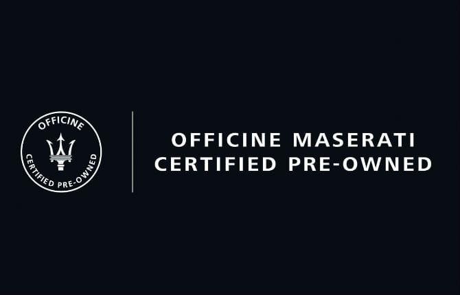"""""""Officine Maserati"""", nasce l'usato garantito dalla casa"""