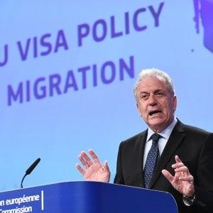 Migranti, per l'Ue gli arrivi sono diminuiti del 30 per cento