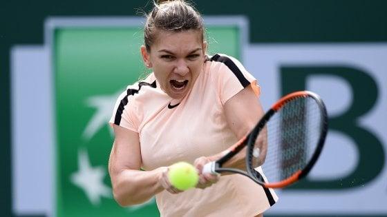 Tennis, Indian Wells: Venus Williams e Halep ai quarti, out Cilic e Sock