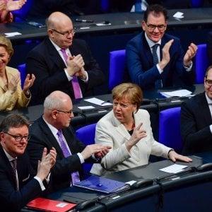 Germania, Merkel al quarto mandato, via libera dal Parlamento