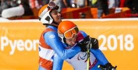 Paralimpiadi, è l'anno di Bertagnolli-Casal. Dopo il bronzo e l'argento, è oro nello slalom gigante