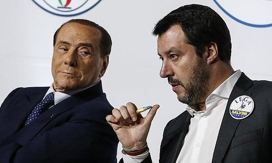 """Salvini: """"Governo con gli M5s? Escluso accordo col Pd, tutto il resto è possibile"""". Ma è scontro con Berlusconi"""