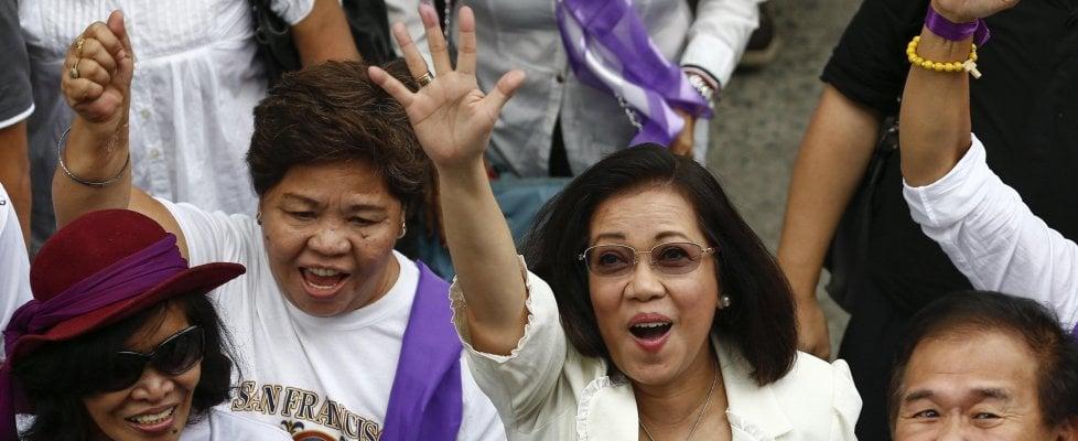 """Maria Lourdes, la donna che sfida Duterte nelle Filippine: """"Lotterò fino alla fine"""""""