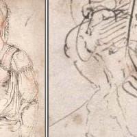 Arte, trovato autoritratto di Michelangelo nascosto in un disegno