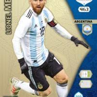 Da Messi a Neymar, le stelle del Mondiale nelle figurine Panini