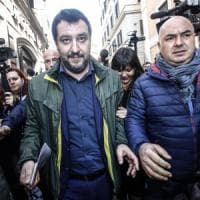 """Salvini: """"Berlusconi chiude agli M5s? No, siamo in linea"""". E su nuova legge elettorale..."""