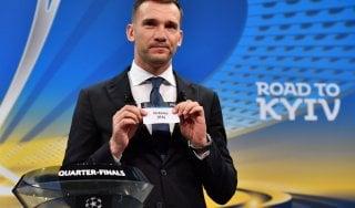 Sorteggio quarti Champions: Juventus-Real Madrid e Barcellona-Roma. E.League: Salisburgo per la Lazio