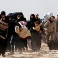 Siria, l'esodo dei civili: in 40mila in fuga dalla Ghouta