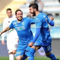 Serie B: Frosinone e Palermo bloccati, l'Empoli allunga il passo