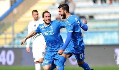 Frosinone e Palermo bloccati sul pari L'Empoli vince e allunga il passo