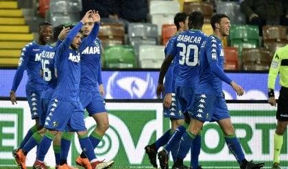 Sassuolo, colpo salvezza: decide Sensi Udinese ancora sconfitta: finisce 1-2