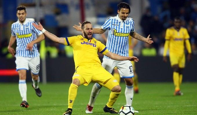 Frenata Juventus: con la Spal finisce 0-0