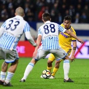 Spal-Juventus 0-0: frenata dei bianconeri, il Napoli può accorciare