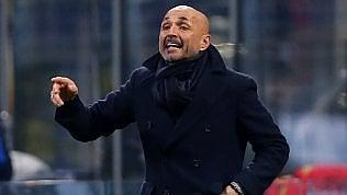 Live Samp-Inter 0-0.Alle 15 Roma e MilanStasera il Napoli col Genoa per accorciare