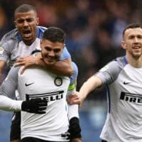 Sampdoria-Inter 0-5, Perisic e poker di Icardi: blucerchiati travolti