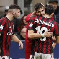 Milan-Chievo 3-2: ai rossoneri basta un grande secondo tempo