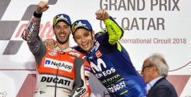 Un Dovizioso da impazzire Battuto Marquez, Rossi terzo