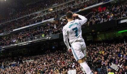 Alcacer-Messi, il Barça doma il Bilbao Real vince 6-3, Ronaldo ne segna 4
