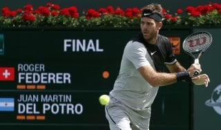 Tennis, Federer cade in finale. A Indian Wells trionfa Del Potro