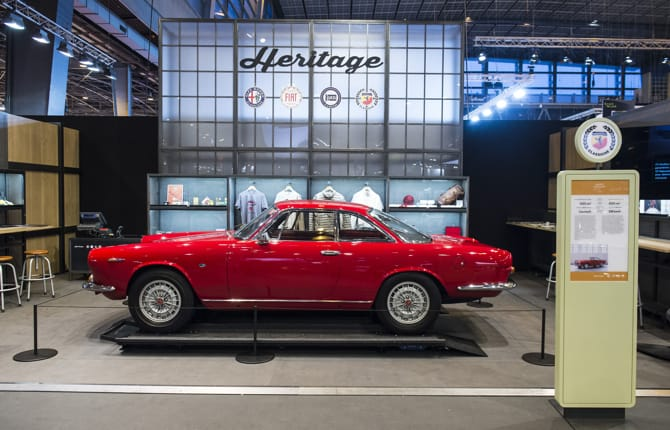 Techno Classica 2018, FCA Heritage in pole