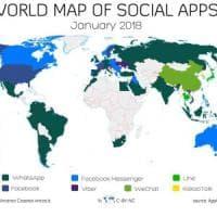 Mondo social app, WhatsApp batte Facebook. Ecco le più usate: è predominio Zuckerberg