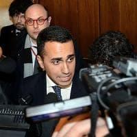 """M5S, Di Maio incontra i neoeletti al Senato: """"Dei ministri parleremo con il capo dello..."""