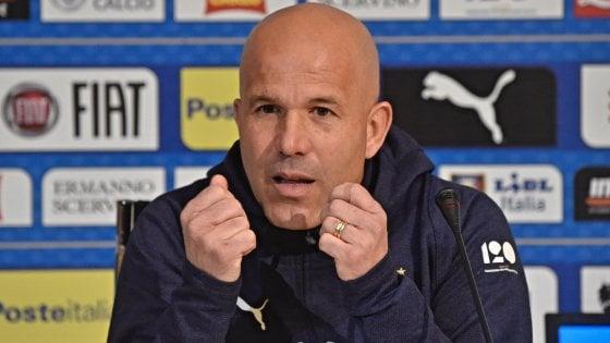 Nazionale, Di Biagio: ''So di giocarmi il futuro. Balotelli? Nessuna chiusura''