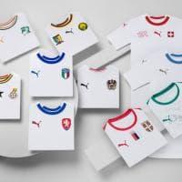Puma svela le maglie da trasferta di dieci squadre: c'è anche quella dell'Italia