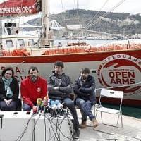Migranti, il sequestro della Open Arms: ong già pronta con un'altra nave