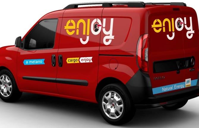 """Enjoy Cargo, il car sharing per le """"cose"""""""