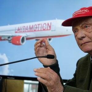Ryanair entra nella compagnia aerea di Niki Lauda
