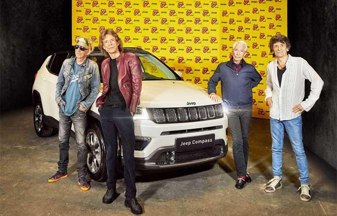 Jeep di nuovo insieme ai Rolling Stones