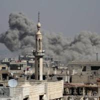 Siria, bombe e morti tra i civili a Damasco e nella Ghouta orientale