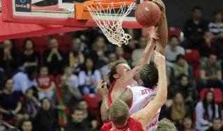 Basket, semifinale Eurocup: parte in salita Reggio, Kuban vince gara-1