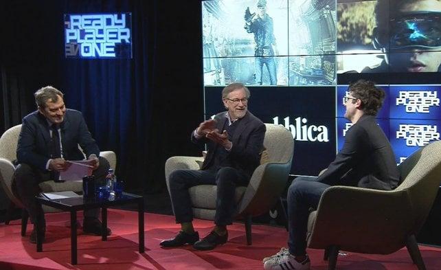 """Steven Spielberg ospite speciale di Repubblica: """"Anche sui social ci governino i valori"""""""