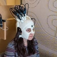 Il casco che legge il cervello
