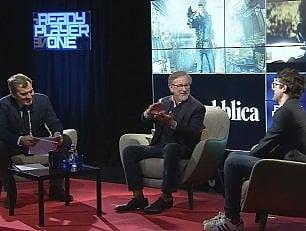 Arriva al cinema 'Ready Player One': Steven Spielberg ospite a Repubblica